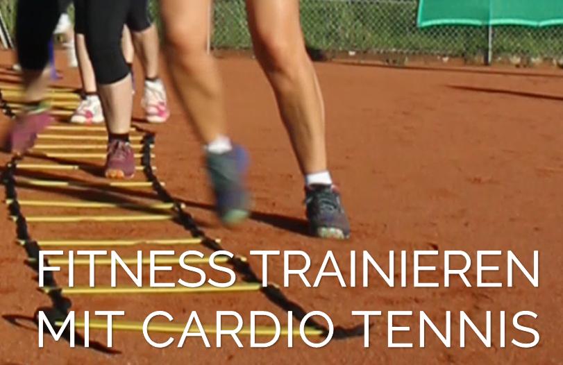 Anmeldung zum Cardio Tennis Sommer 2018